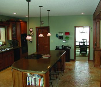 What are the advantages of decorative concrete for your basement floor