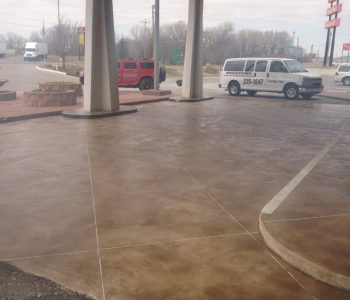 Should stamped concrete be sealed?